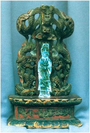 Будда-Майтрейя из коллекции З. Г. Фосдик. Дар Новосибирскому Музею Н. К. Рериха от Президиума СО РАН