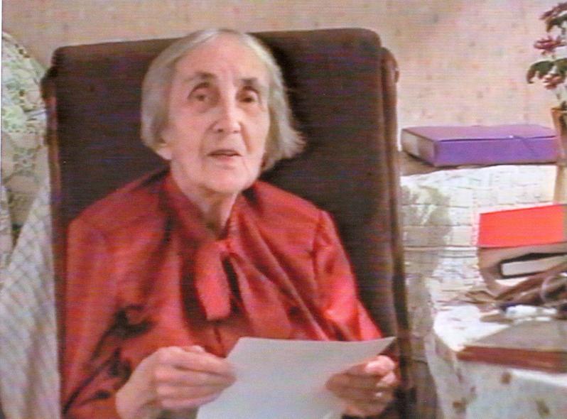 Наталия Дмитриевна Спирина. Новосибирск. Конец 1990-х гг.