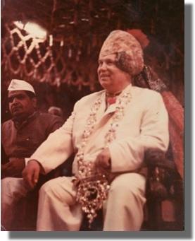 Н.С.Хрущёв в Индии, 1956 г.