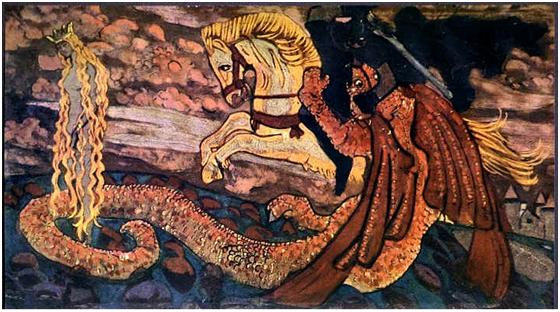 Н.К.Рерих. Змиевна. 1906