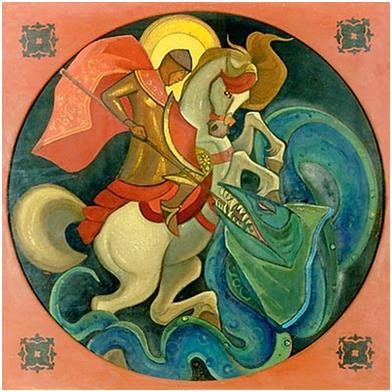 Н.К.Рерих. Свет побеждает тьму. 1933