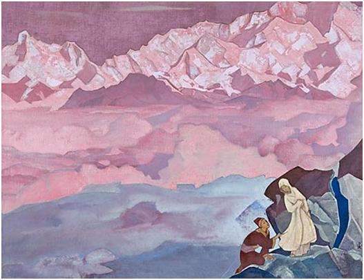 Н.К.Рерих. Ведущая. Серия «Его Страна». 1924