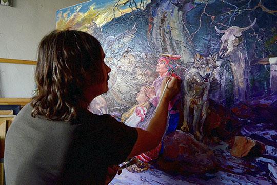 «Творческий человек не просто картины пишет, музыку… Это тот, кто творчески живет» Фото: «БИЗНЕС Online»