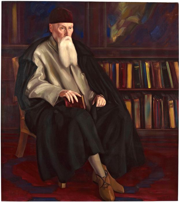 Святослав Рерих. «Профессор Николай Рерих». 1942. Фото: Государственный музей Востока