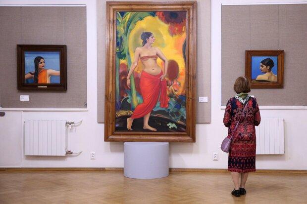 В помещениях музея будет собрано более 500 полотен Фото: Агентство городских новостей «Москва»