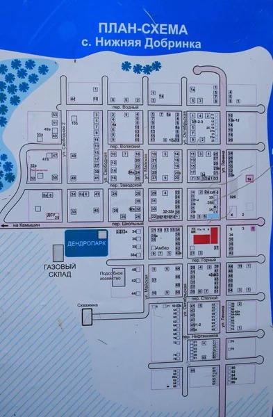 План села Нижняя Добринка