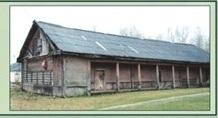 До пожара. Деревянный амбар с галереей. XVIII век. 174,1 кв. м
