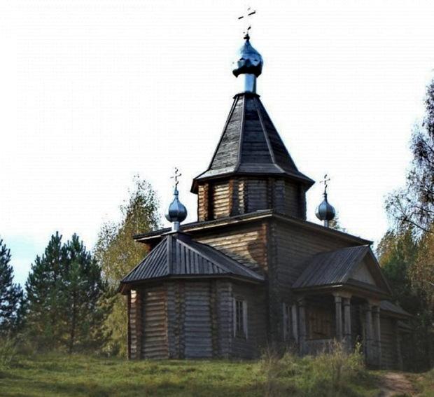 Часовня Казанской Божьей матери на берегу Светлояра