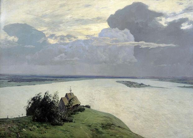 Над вечным покоем. 1894 г.
