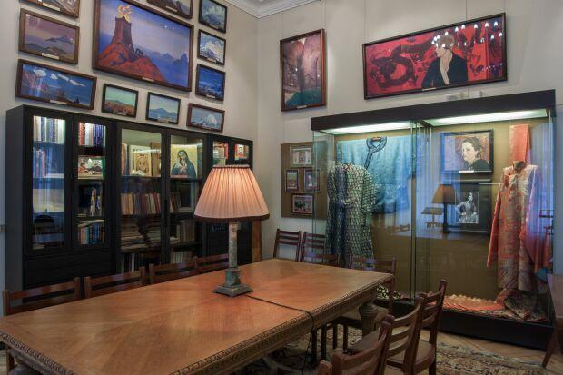 Мемориальный кабинет Н.Рериха в Музее Востока