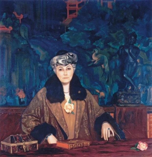 С.Н.Рерих. Портрет Елены Рерих. 1937 г.