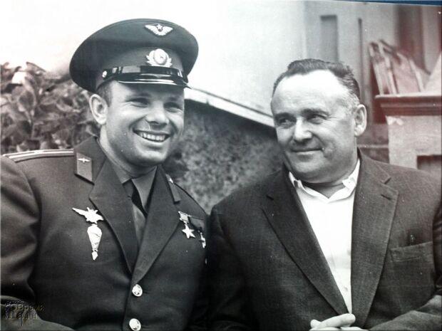 Королёв Сергей Павлович и Юрий Гагарин