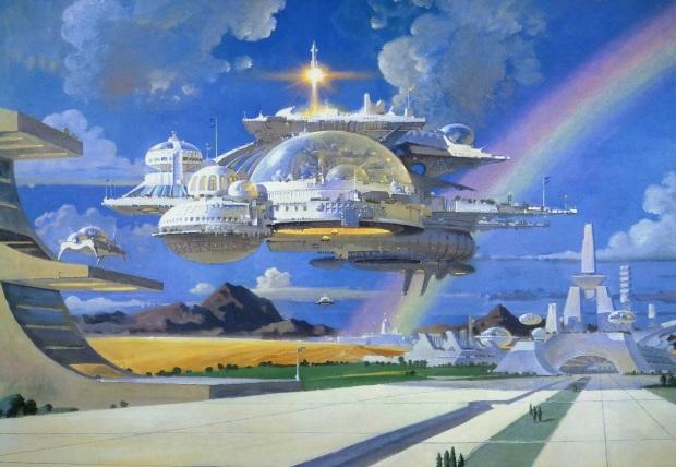 Город будущего (Argosy). Роберт МакКолл (1919 - 2010)