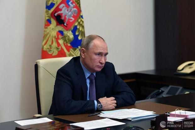 Президент РФ Путин В.В.  Ал.Никольский