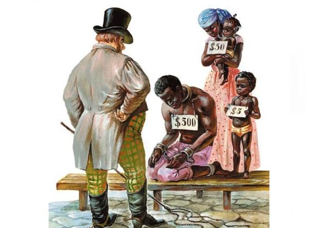 Иллюстрация к книге «Хижина Дяди Тома»