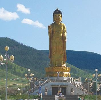 Храмовый комплекс Грядущего Будды Майтрейи под Улан-Батором, Монголия